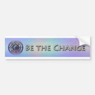 Sea la pegatina para el parachoques del cambio pegatina para auto