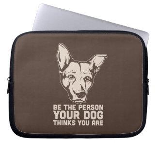 sea la persona que su perro piensa que usted es mangas computadora