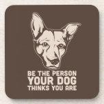 sea la persona que su perro piensa que usted es posavasos
