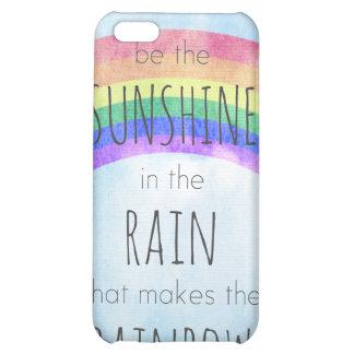 Sea la sol en la lluvia