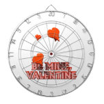 Sea la tarjeta del día de San Valentín 2 de la min Tablero De Dardos
