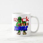 Sea la tortuga/la roca la taza de la tortuga