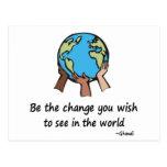 Sea las postales del cambio