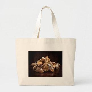 Sea leftovers large tote bag