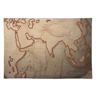 Sea Level Map Placemat