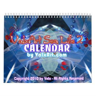 Sea-Life art calendar  by Valxart