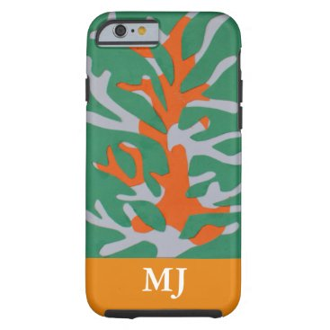 'Sea Life' Bright & Colourful Modern Abstract Art Tough iPhone 6 Case