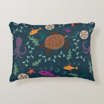 Sea Life Decorative Accent Pillow