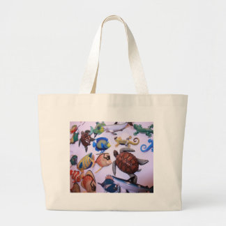 Sea Life Large Tote Bag