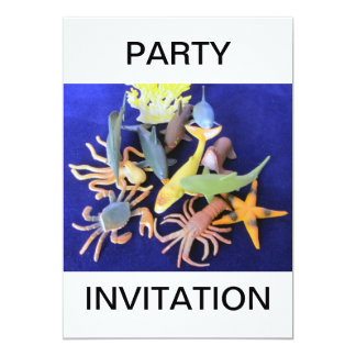 Sea Life Party Invitation