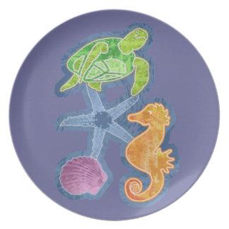 Sea Life Party Plates
