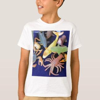Sea Life Plastic Animals Kids Tee Shirt