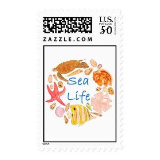 Sea Life Postage