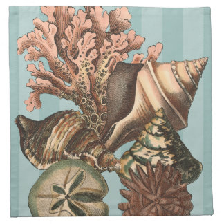 Sea Life Silhouette Cloth Napkin