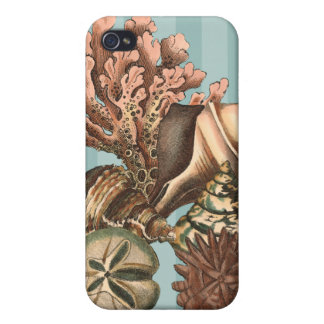 Sea Life Silhouette iPhone 4 Case