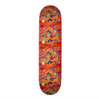 sea life summer skateboard deck