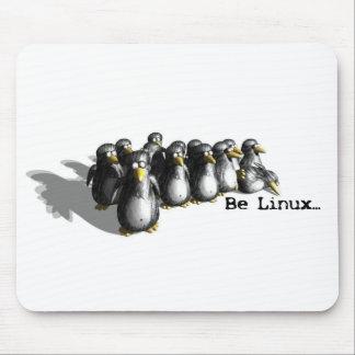 Sea Linux Alfombrilla De Ratón