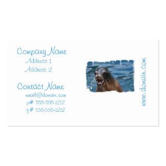 sea-lion-128 tarjeta personal