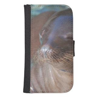 Sea Lion Baby Galaxy S4 Wallets