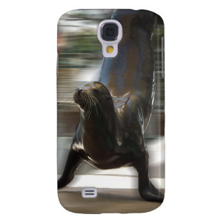 Sea Lion Doing Trick at Kansas City Zoo Samsung Galaxy S4 Cases