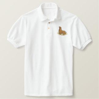 Sea Lion Embroidered Polo Shirt