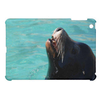 Sea Lion Getting Some Air iPad Mini Covers