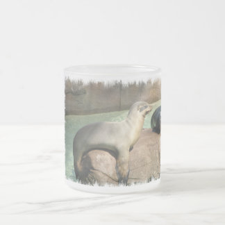 Sea Lion Glass Mug