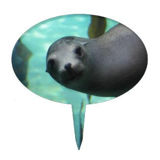 Sea lion Hi Cake Toppers