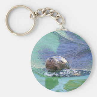 Sea Lion; In the Swim of Things! Keychain