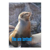 Sea Lion Invitation