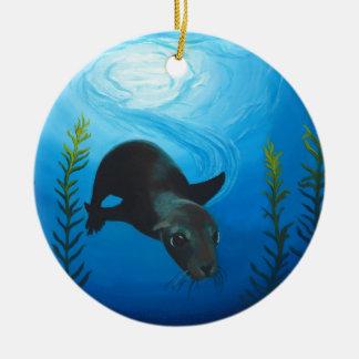Sea Lion jpg Ornament