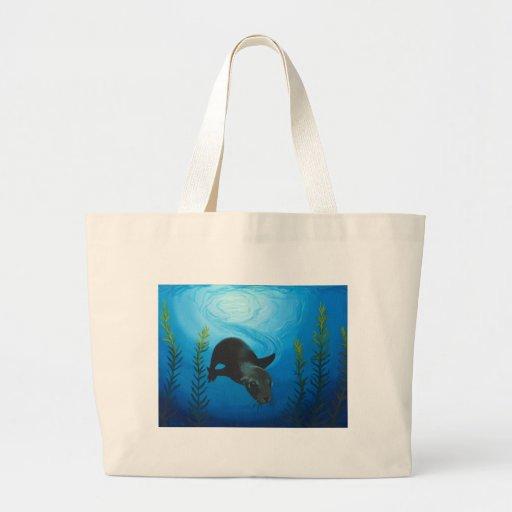 Sea Lion.jpg Tote Bags