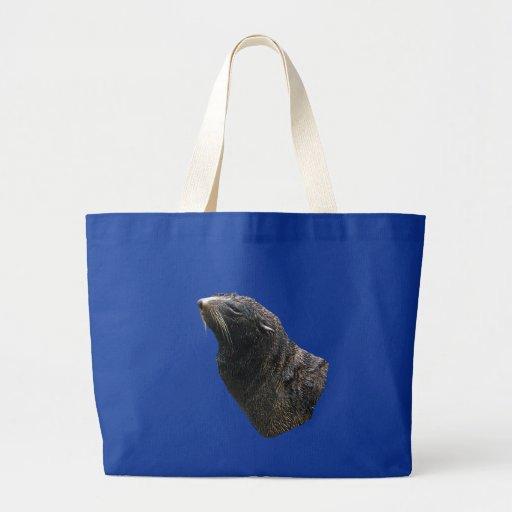Sea Lion Jumbo Tote Bag