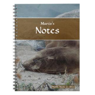 Sea Lion Notebook
