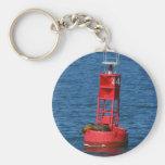 Sea Lion On Buoy Key Chain