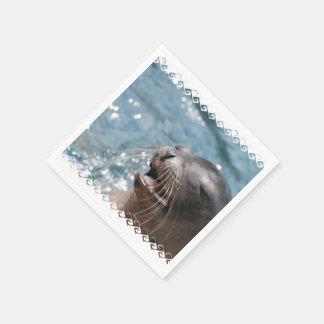 Sea Lion Disposable Napkins