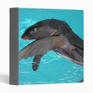 Sea Lion Playing binder