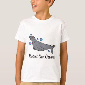 Sea Lion Protect Our Oceans T-Shirt