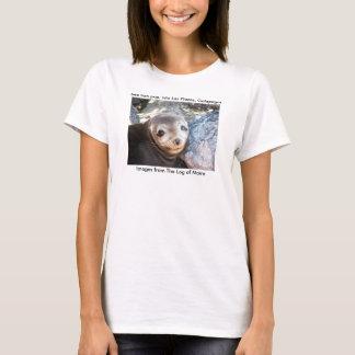 Sea lion pup, Isla Las Plazas, Galapagos T-Shirt