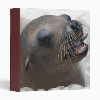 Sea Lion Snacking Binder