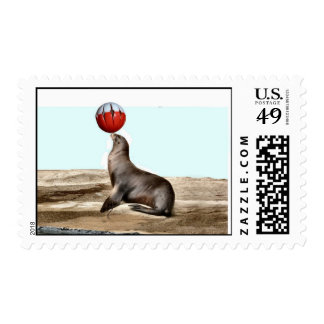 Sea Lion Stamp