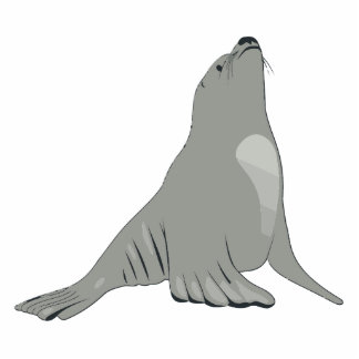 Sea Lion Statuette