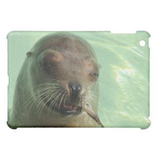 Sea Lion with Fish iPad Case