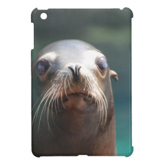 Sea Lion with Whiskers iPad Mini Cover