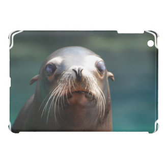 Sea Lion with Whiskers iPad Mini Covers