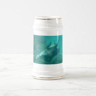 Sea Lions Aqua Stein Coffee Mug