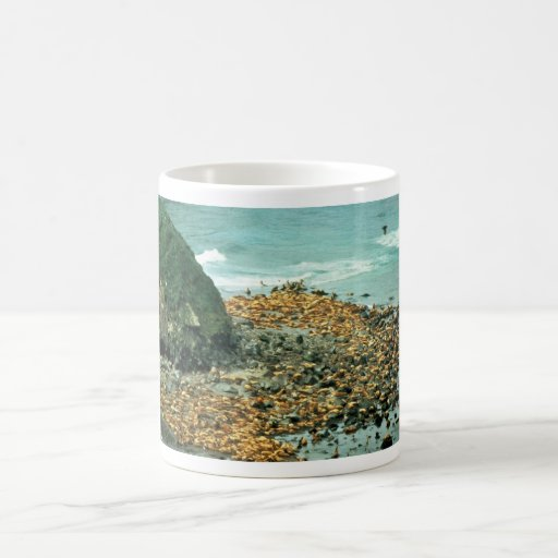 Sea Lions at Haulout Coffee Mug