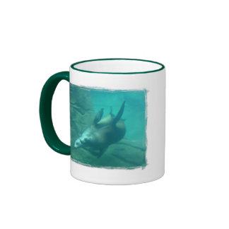 Sea Lions Large Mug