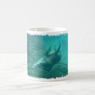 Sea Lions Morphing Mug
