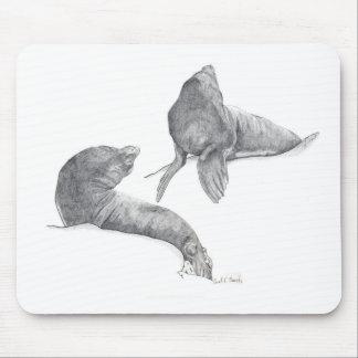 Sea Lions Mousepad